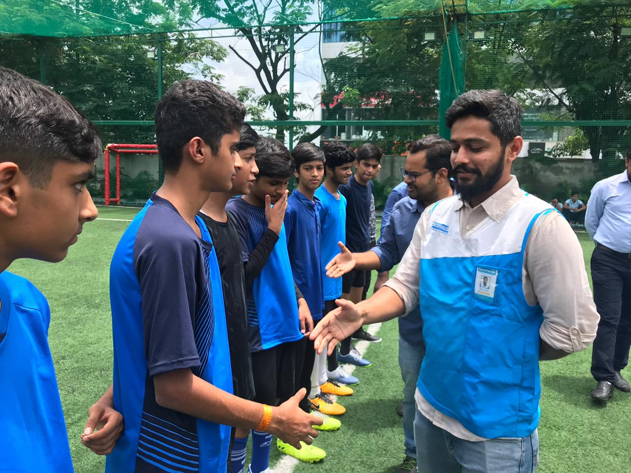 Inter L.P. Savani Football Tournament-2019