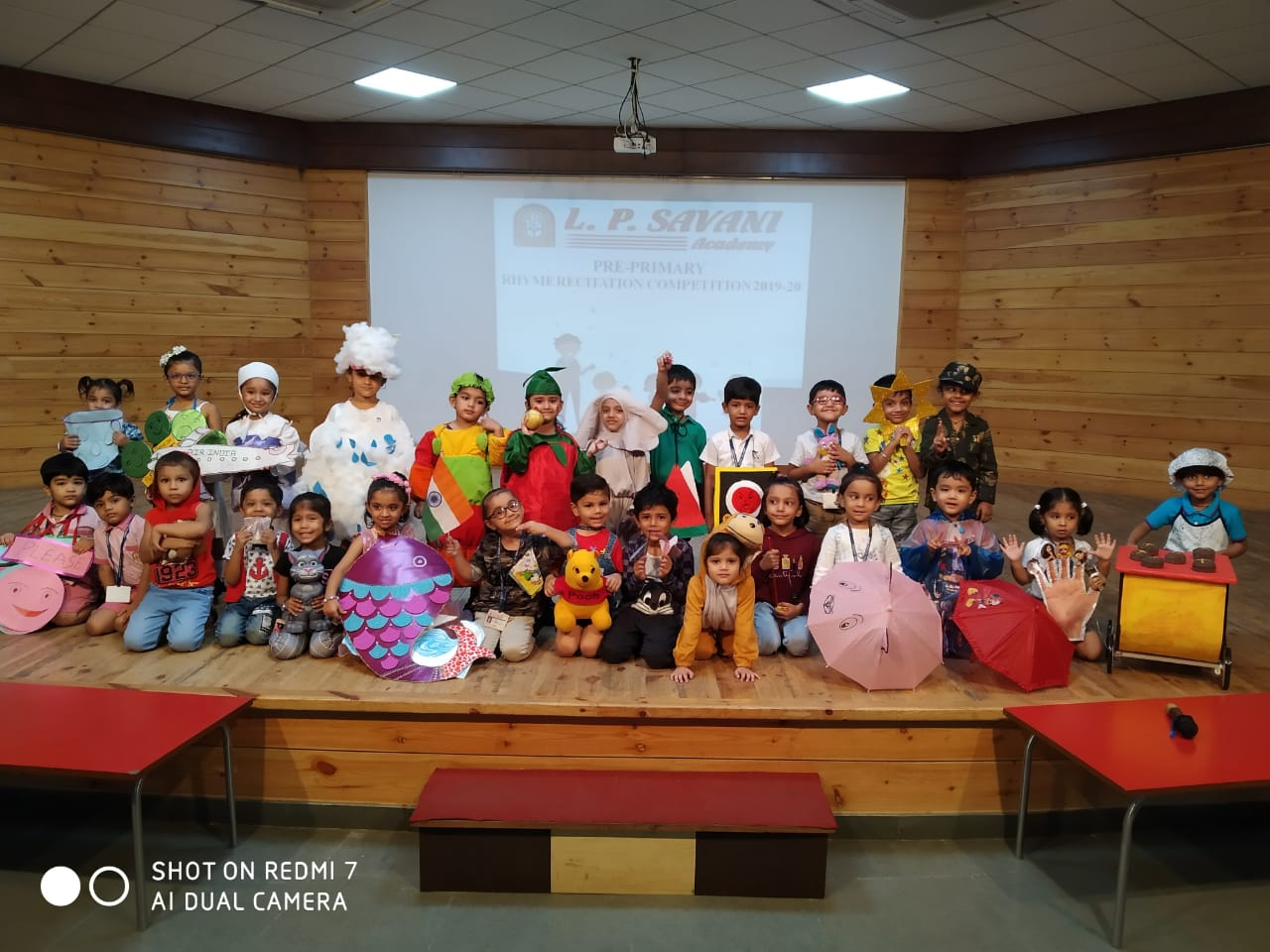 Rhymes Recitation & Story Telling Competition