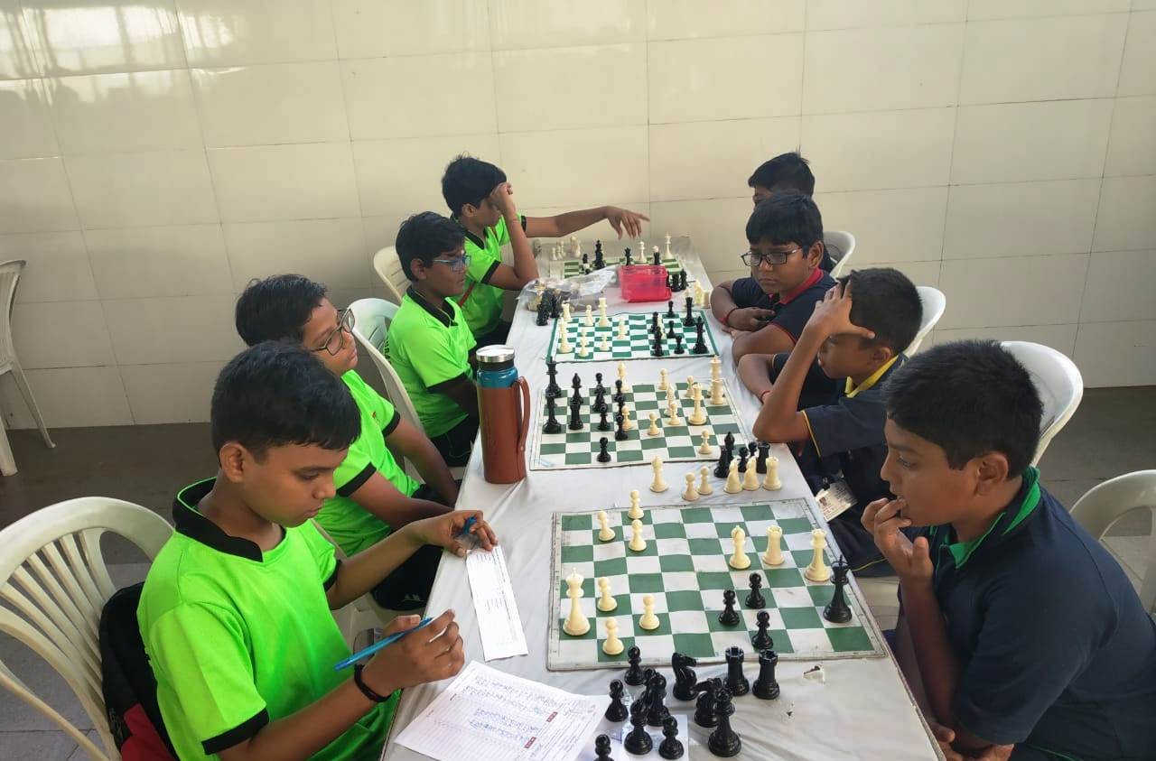 2nd day of CBSE West Zone Chess Tournament