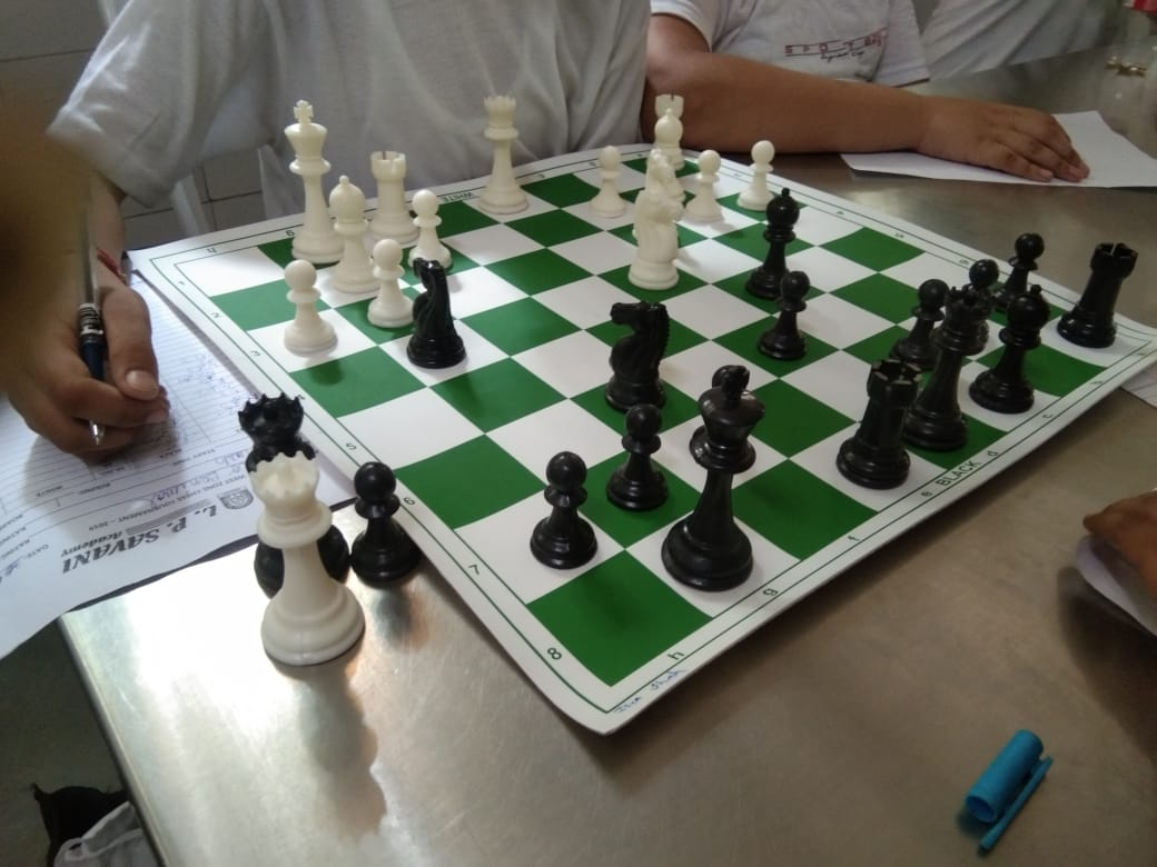 1st day of CBSE West Zone Chess Tournament