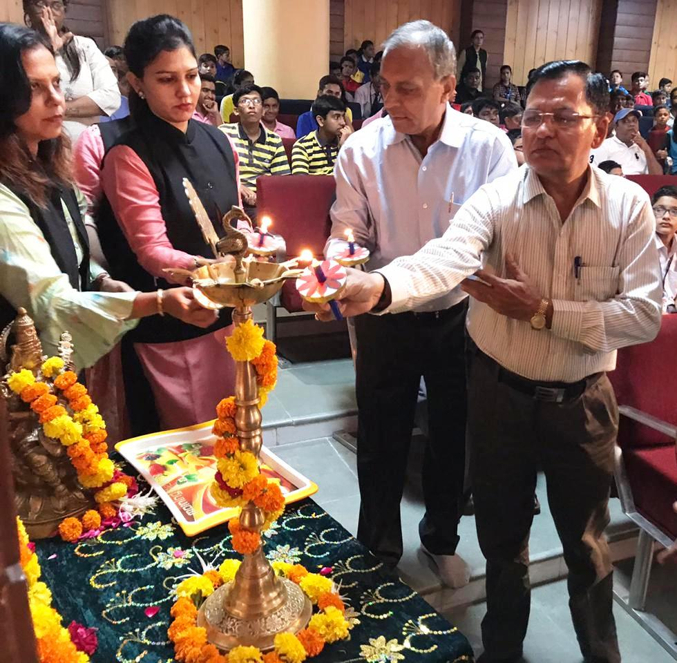 The Opening Ceremony of CBSE west zone chess tournament 2019-20