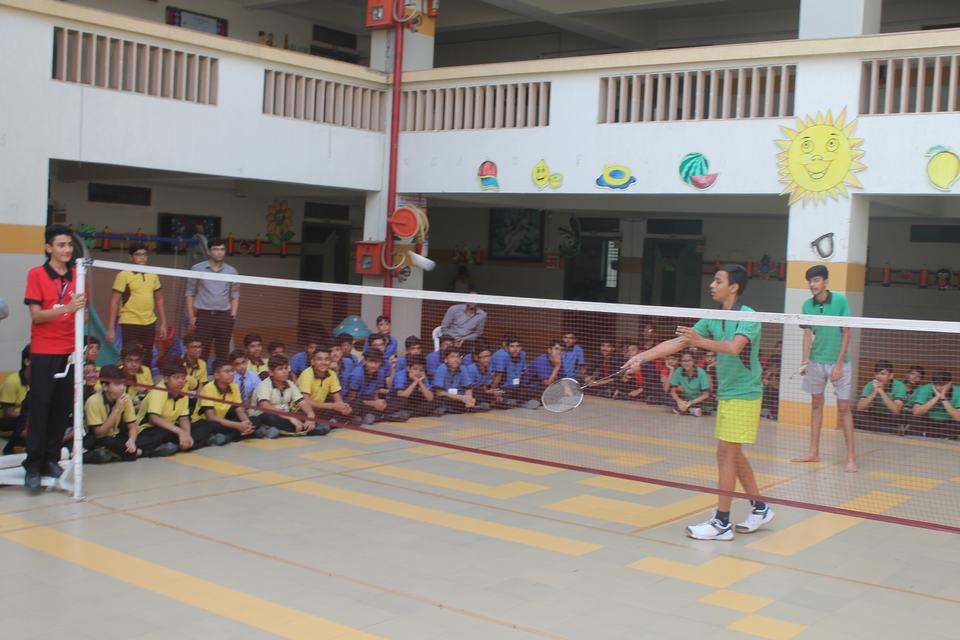 Inter-House Badminton Tournament 2019
